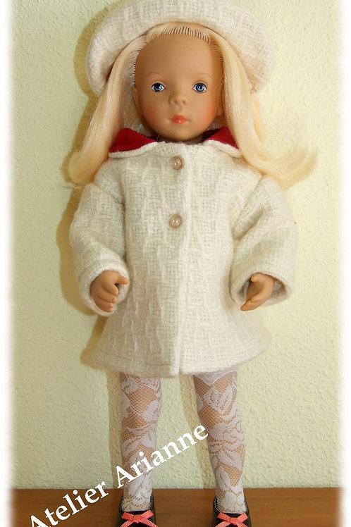 Tenue Camélia pour poupées  Little Darling ,Minouche, Corolle 33 cm