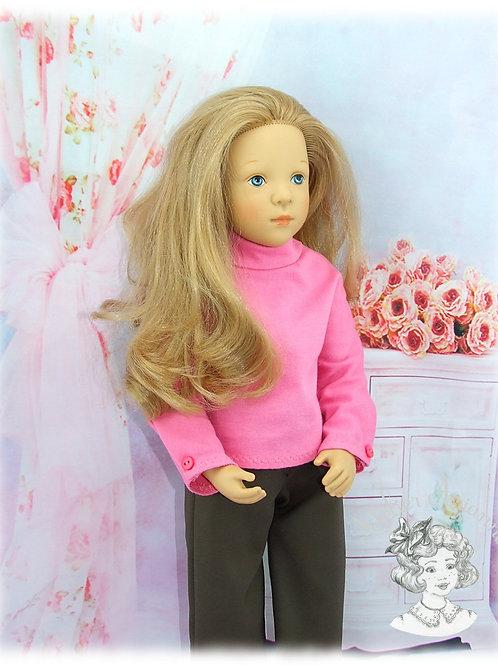 Col roulé en jersey pour poupée Finouche, Gotz, Journey Girl