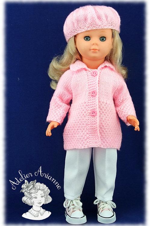 Pantalon 7/8 pour poupées de Modes et Travaux