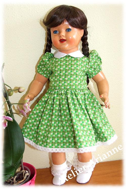 Robe Enny pour poupée Raynal 48 cm