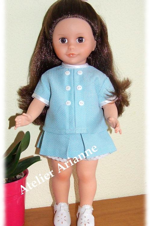 Tenue Avril 1969 pour poupées Modes et Travaux, Marie-Françoise