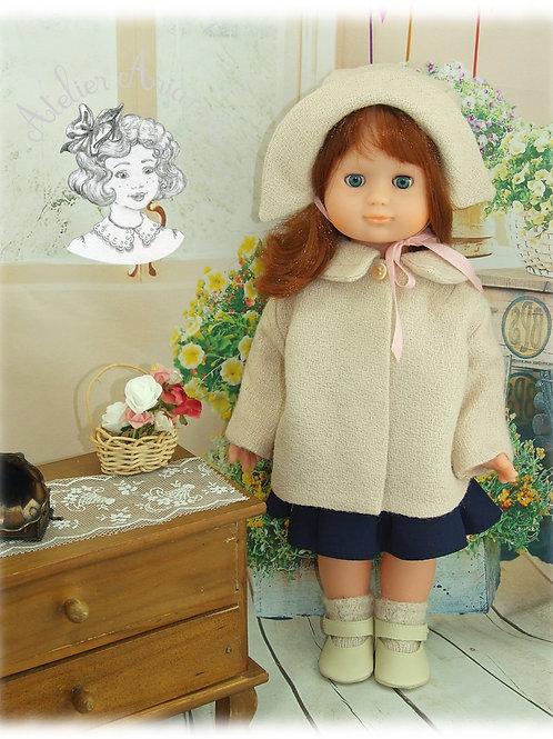 Décembre 1960 Tenue pour poupée Emilie de Modes et Travaux