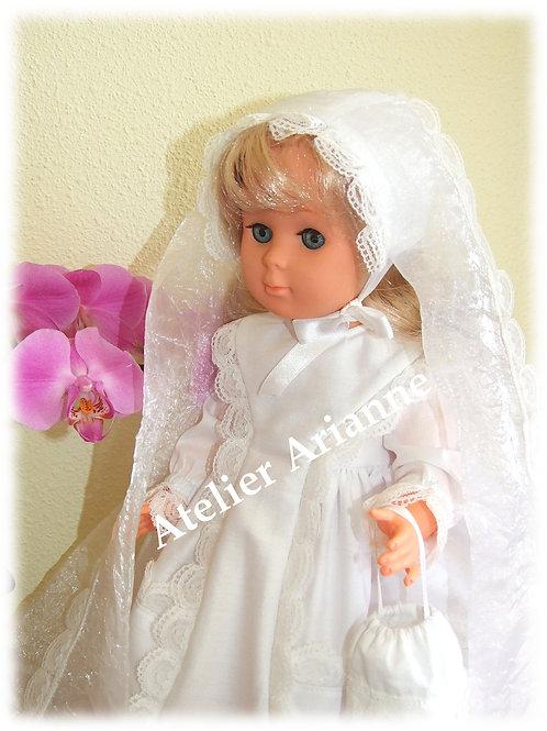Tenue pour poupée Marie-Françoise Modes et Travaux Mai 1967