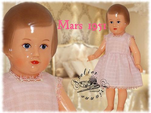 Lingerie Françoise Rose Mars 1951