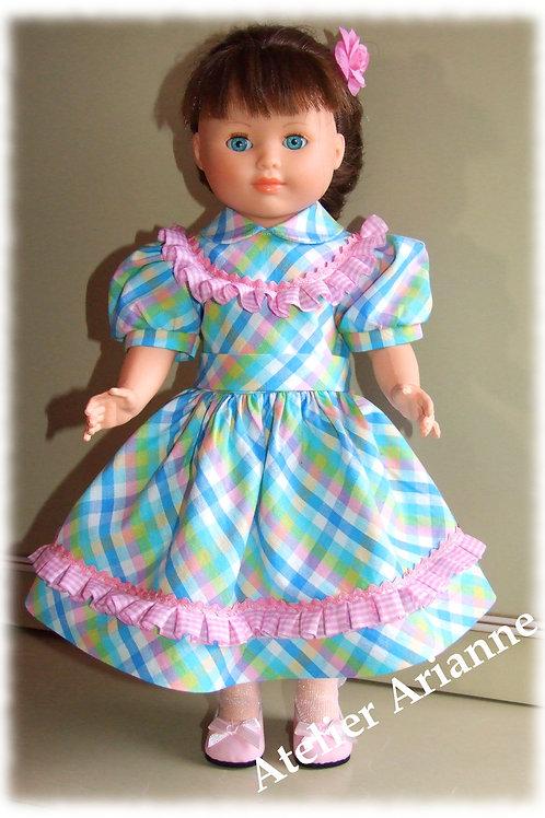 Tenue Fanie pour poupées Modes et Travaux, Marie-Françoise
