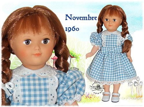 Tenue Françoise ou Marie-Françoise Novembre 1960