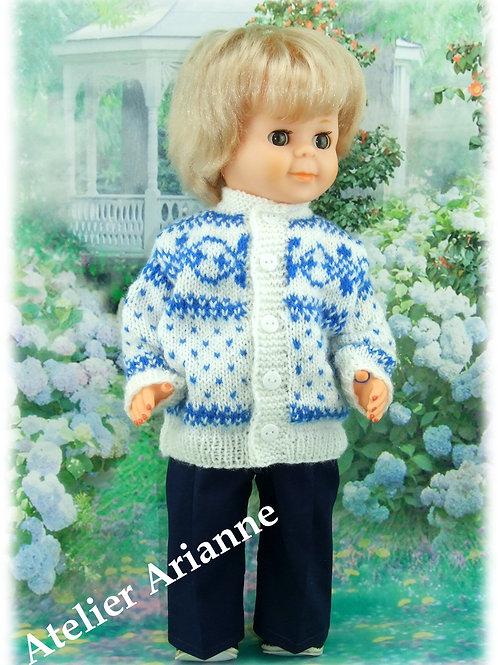 Tenue Tom pour poupée Jean-Michel Modes et Travaux