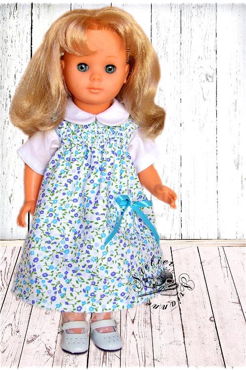 Tenue pour poupée Marie-Françoise  Modes et Travaux Avril 1978