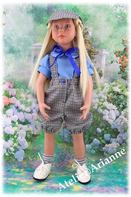 Tenue Georgette pour poupée  Gotz