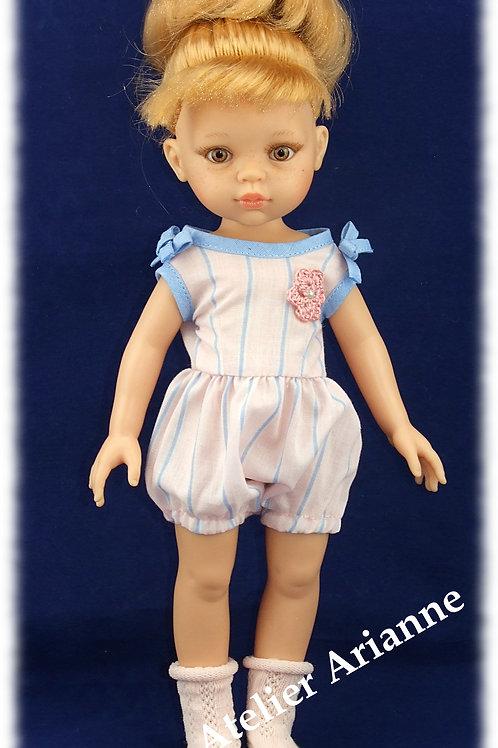 Lingerie Assia pour poupées Corolle, Minouche, Paola Reina, 33 cm