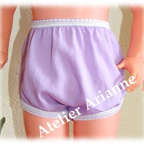 Culotte pour poupées Raynal et autres 56-63 cm assortie à la robe Carina