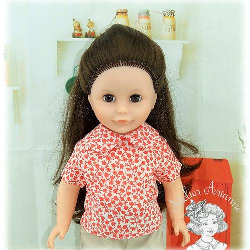 Chemise pour poupées de Modes et Travaux: Françoise, Francette, Louise