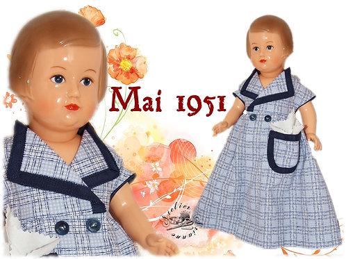 Robe de chambre Françoise Mai 1951