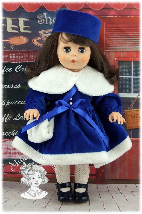 Modèle exclusif - Elsa tenue pour poupée Cathie de Raynal