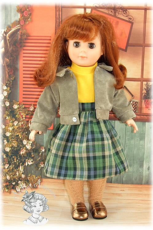 Septembre 1983 - Tenue pour poupée Marie-Françoise de Modes et Travaux