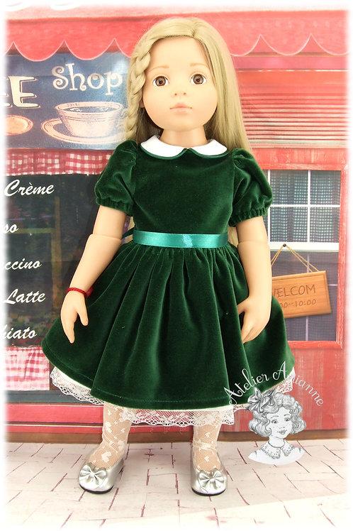 Décembre 1951 Tenue pour poupée Götz