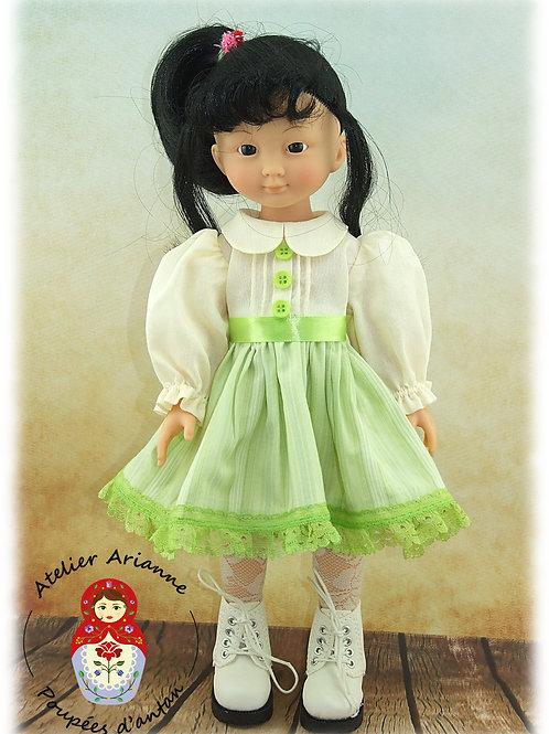Tenue Lili pour poupée Paola Reina ou Corolle 33 cm