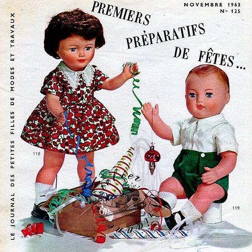 Page Modes et Travaux Novembre 1963