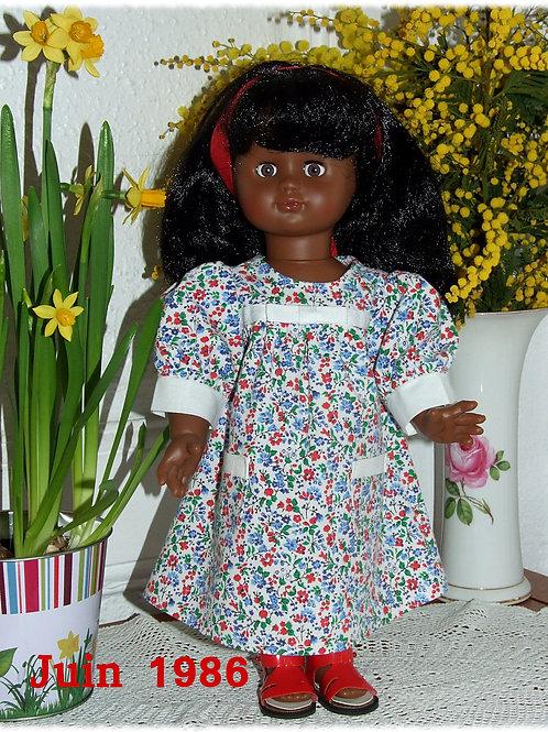 Tenue pour poupée Emilie Modes et Travaux Juin 1986