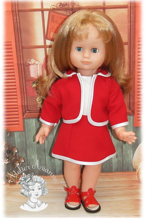 Mai 1966 Tenue pour poupée Emilie de Modes et Travaux