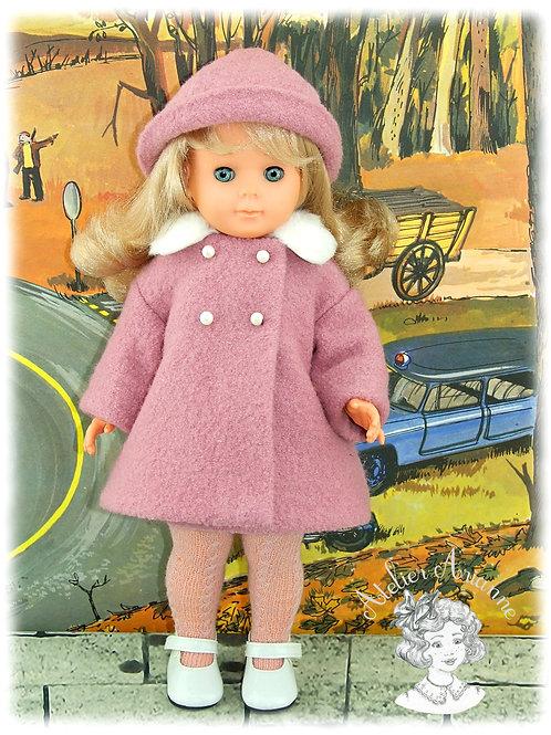 Tenue pour poupée Marie-Françoise de Modes et Travaux-Novembre 1965