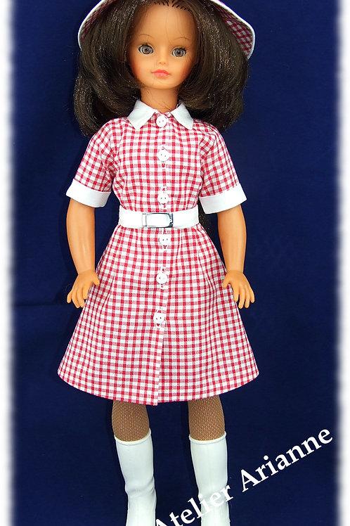 Anne Reproduction Tenue  pour poupée Cathie et Nathie de Bella