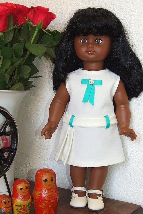 Robe Lise pour poupée Emilie