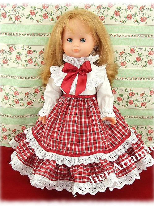 Noël 2018 Tenue pour poupée Emilie