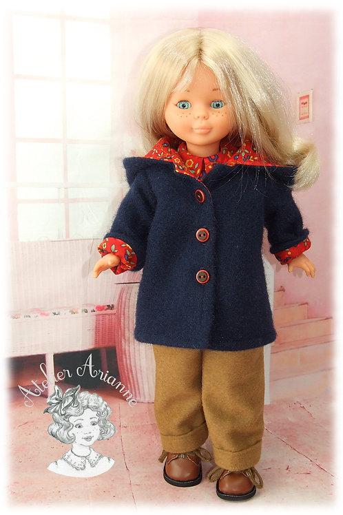 Automne tenue pour poupée Nancy de Famosa