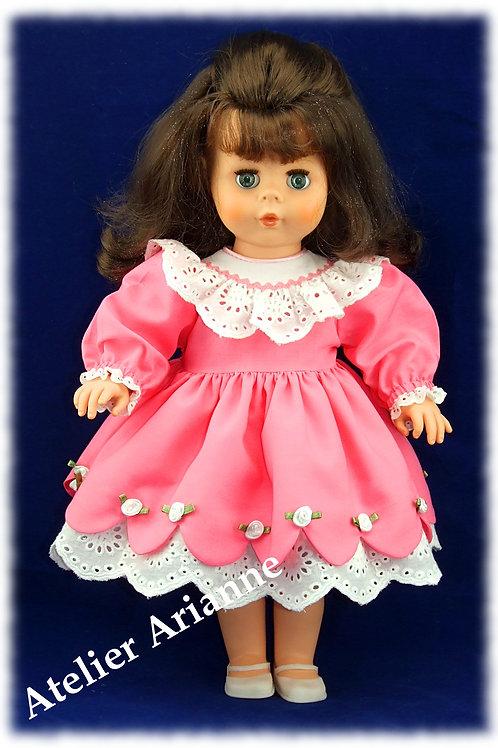 Adèle tenue poupée Kattie de Raynal ou Modes et Travaux