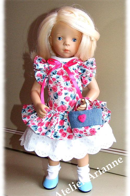 Tenue Melina pour poupées  Little Darling ,Minouche, Corolle 33 cm