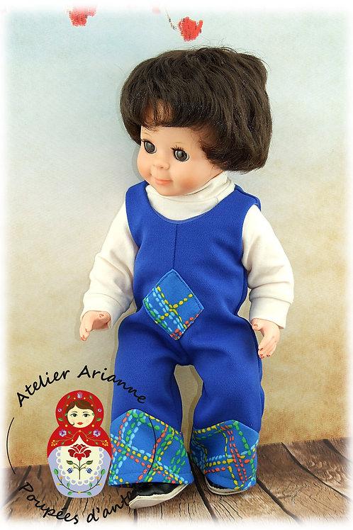 Avril 1973 Tenue pour poupée Michel Modes et Travaux