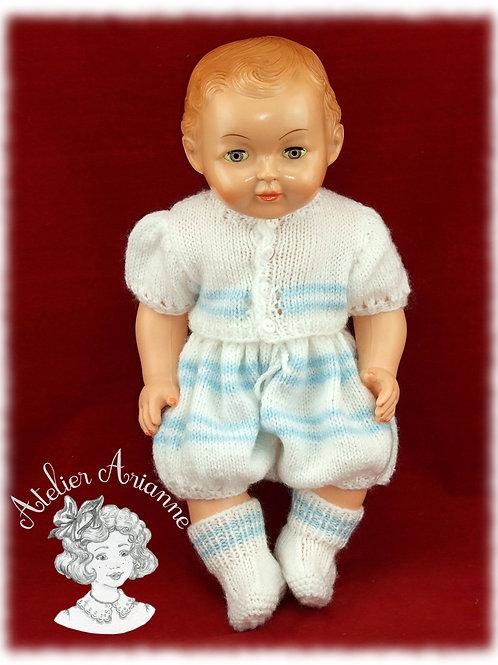 Tenue pour poupée Michel Modes et Travaux Février 1956