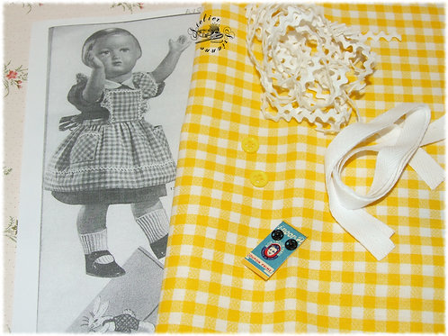 Kit 13 couture Modes et Travaux Françoise Avril 1953 tablier