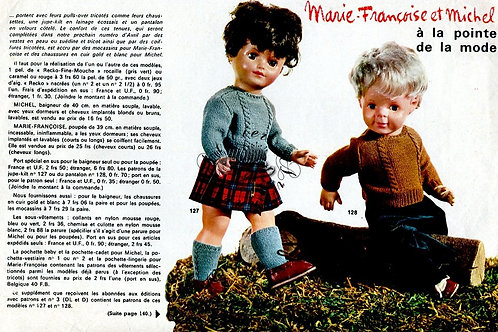 Page Modes et Travaux Mars 1967 avec mini patron