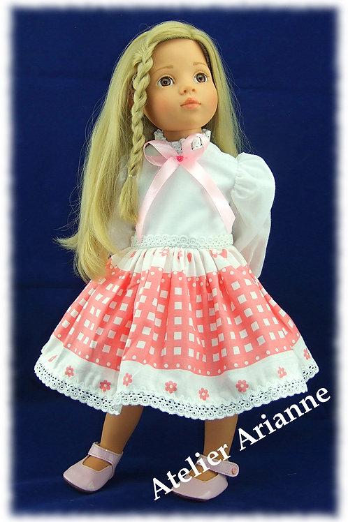 Tenue Babette pour poupées Gotz, Journey Girl , GéGé, et autres poupées de 50 cm