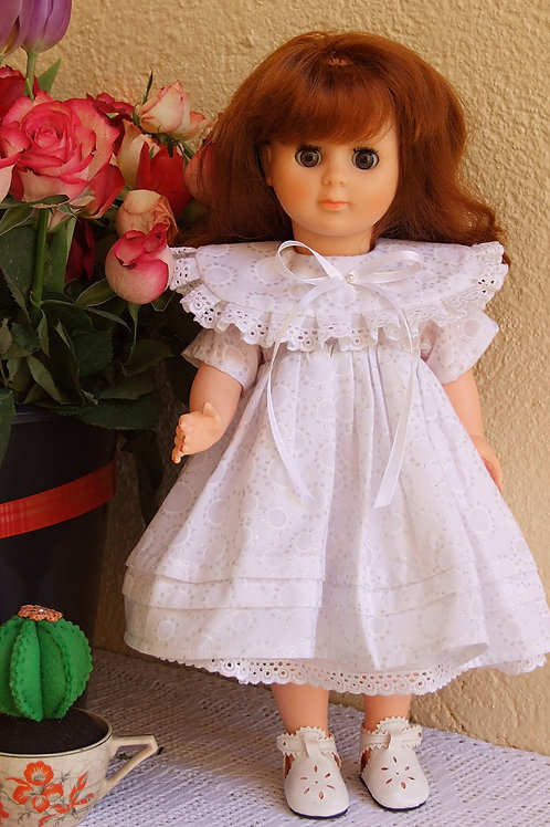 Tenue pour poupée Françoise Modes et Travaux Avril 1990