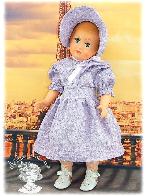 Tenue pour poupée Françoise ou Marie-Françoise -Décembre 1953