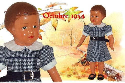 Tenue Françoise Octobre 1954