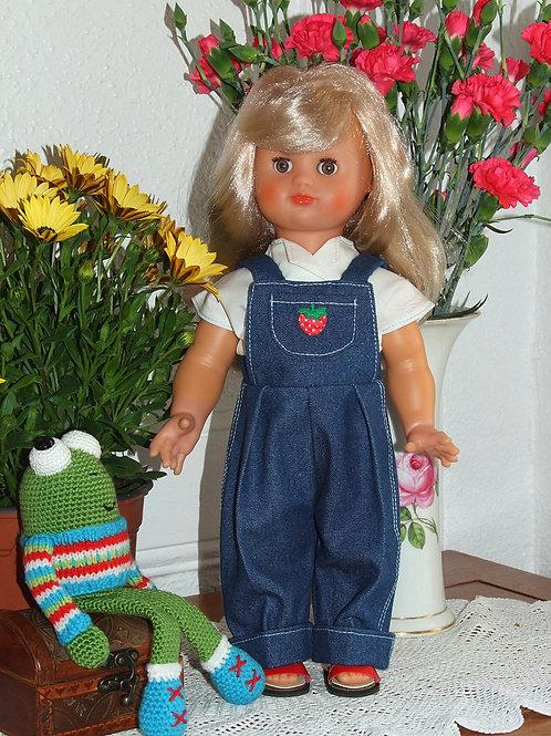 Tenue pour poupée Emilie Modes et Travaux Juin 1952