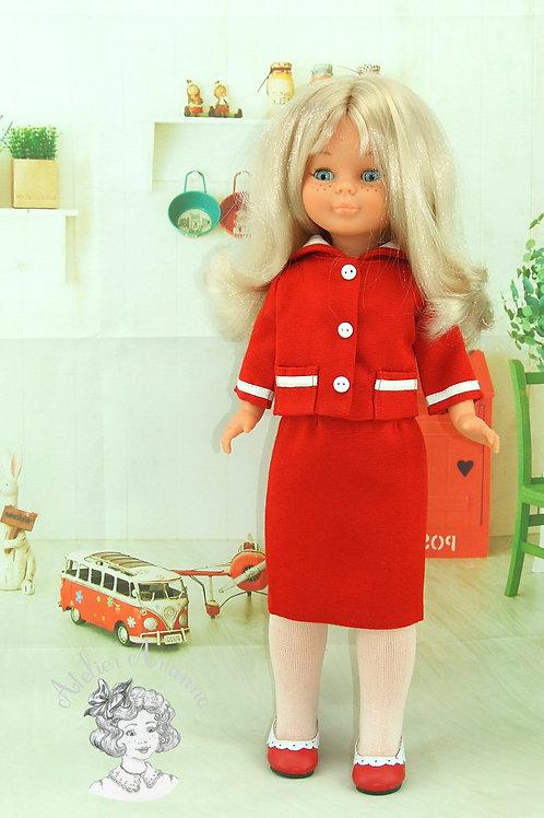 Madyline, Tenue avec col marin pour poupée Nancy de Famosa