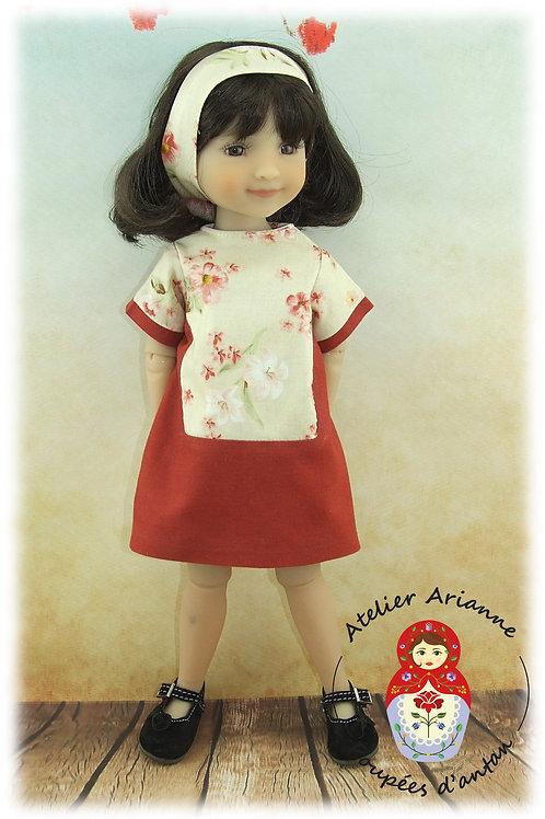 Brigitta - Tenue pour poupée Ruby Red