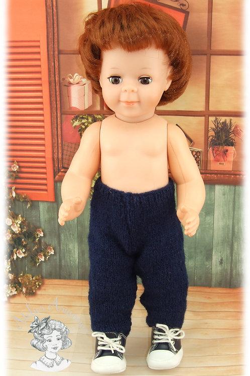 Pantalon pour poupées Emilie ou Jean-Michel de Modes et Travaux-Janvier 1961