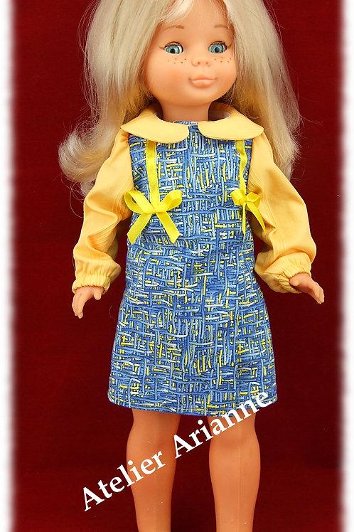 Tenue Ada pour poupées: Nancy de Famosa,Starlette, Vidal