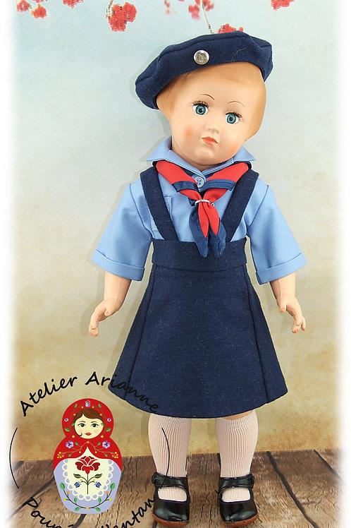 Décembre 1959 Tenue pour poupée Modes et Travaux