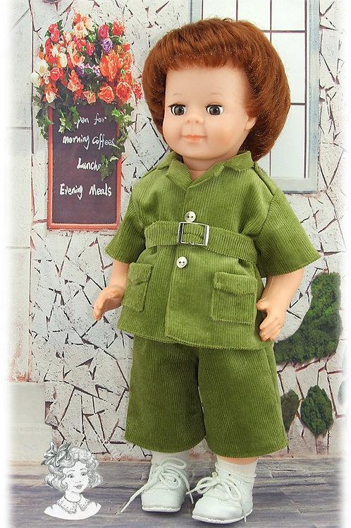 Mai 1984-Tenue pour poupée Jean-Michel de Modes et Travaux