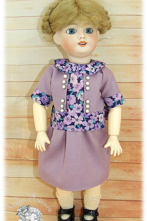 Reproduction de tenue pour poupée Bleuette - 7 mai 1925