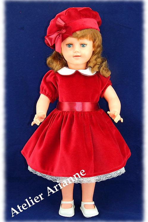 Tenue pour poupée GéGé 56 cm Décembre 1951