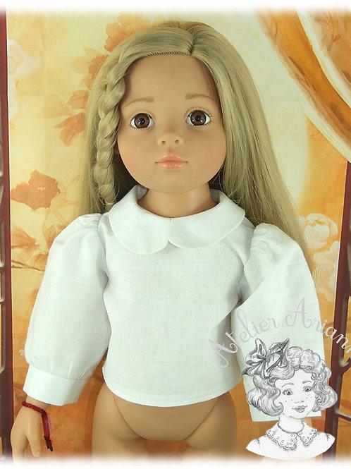 Chemise pour poupée Gotz ou autres 46-50 cm