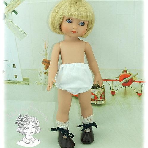 Culotte pour poupées de 25-30 cm